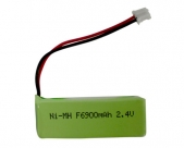 Square Ni-MH battery F6-900mA